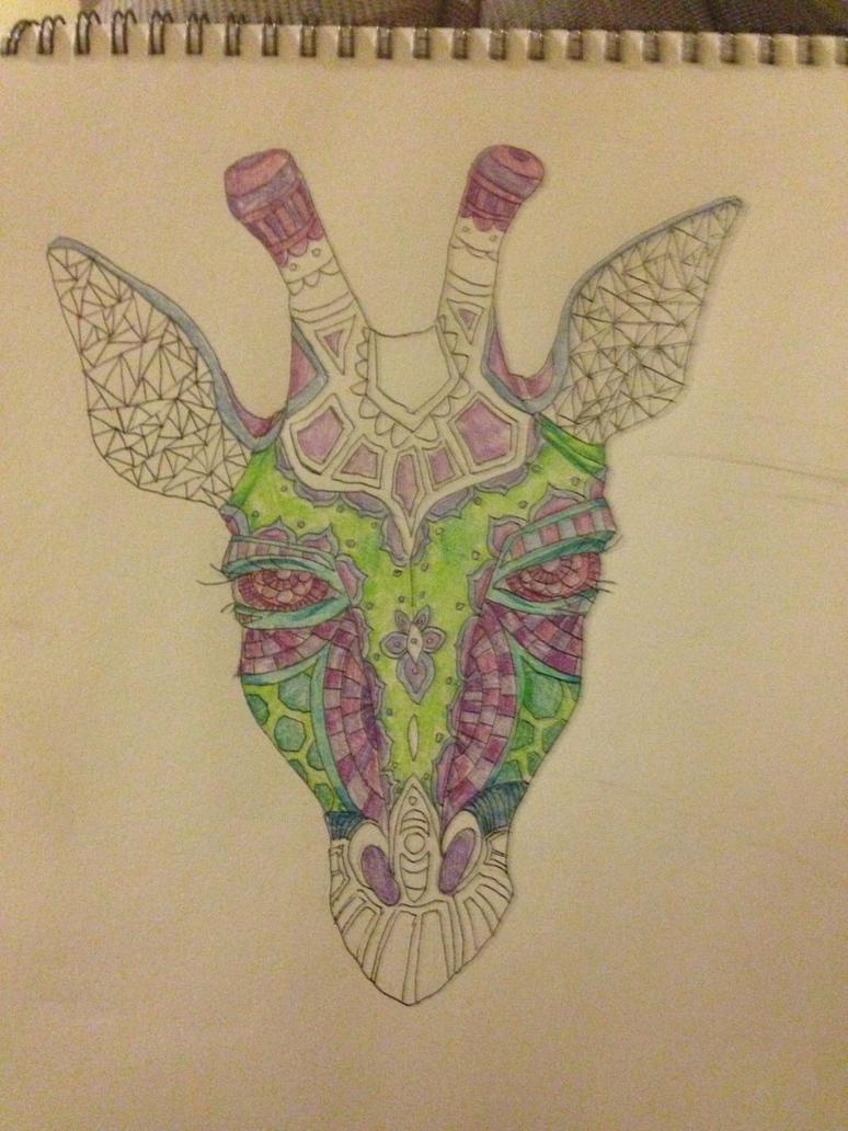 Sketch: Giraffe  by telephonehome
