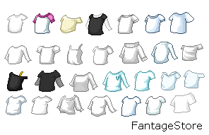 Fantage Shirt Base Pack (female) by FantageStore