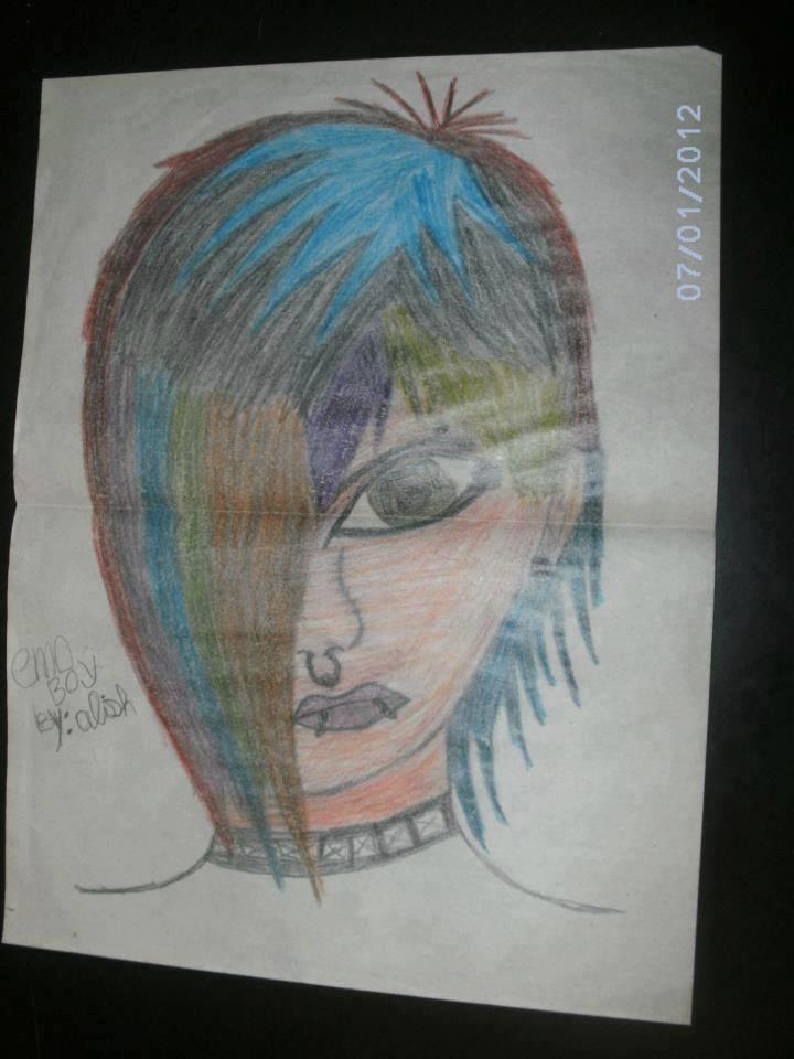 Emo boy teen by femshepLiara1993