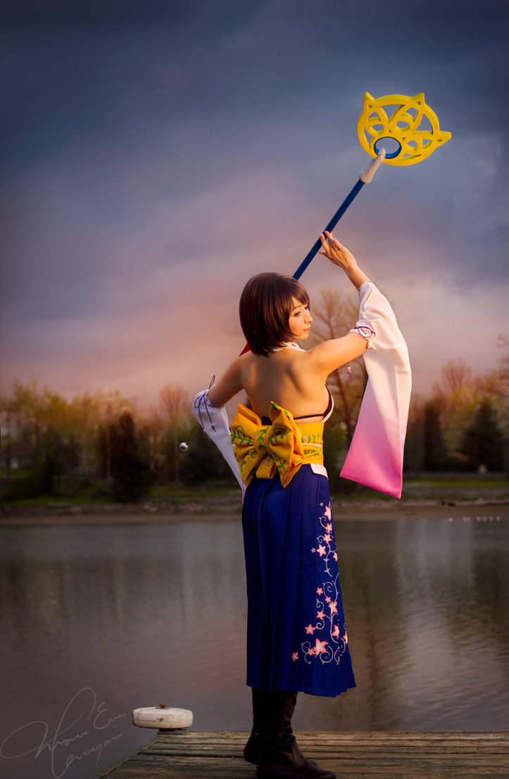 Yuna cosplay 2 by SorrowTurquoise