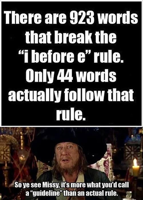 captain barbossa guidelines