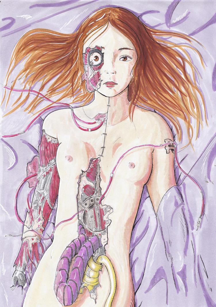 Robotgirl 4.0 by Vanilla-Kawaii