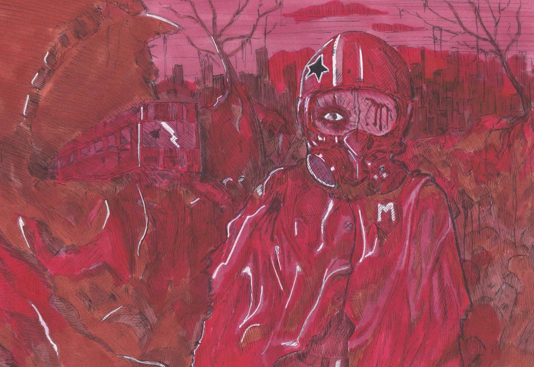Metro 2033 Red version by Vanilla-Kawaii