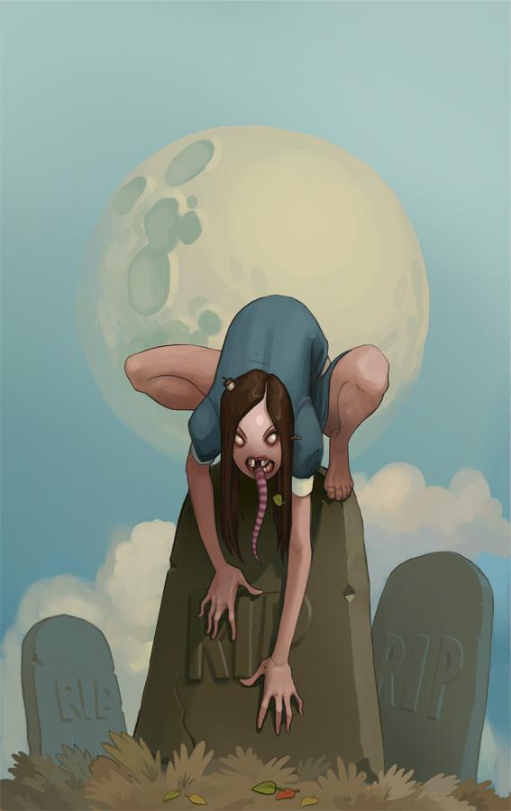 Girl by glooh