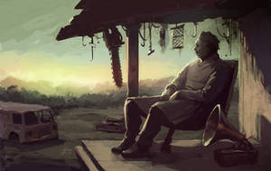 Leatherface by glooh