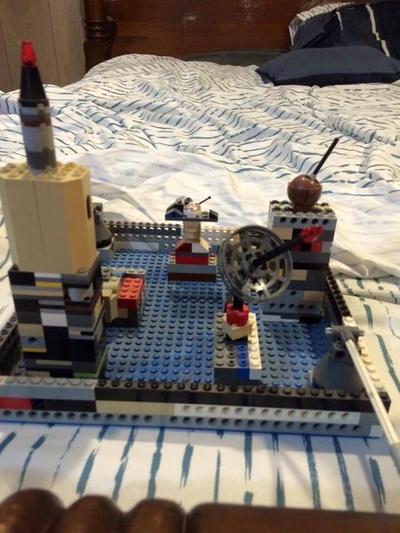 Transformers Lego Iacon City  by Transformerbrett97