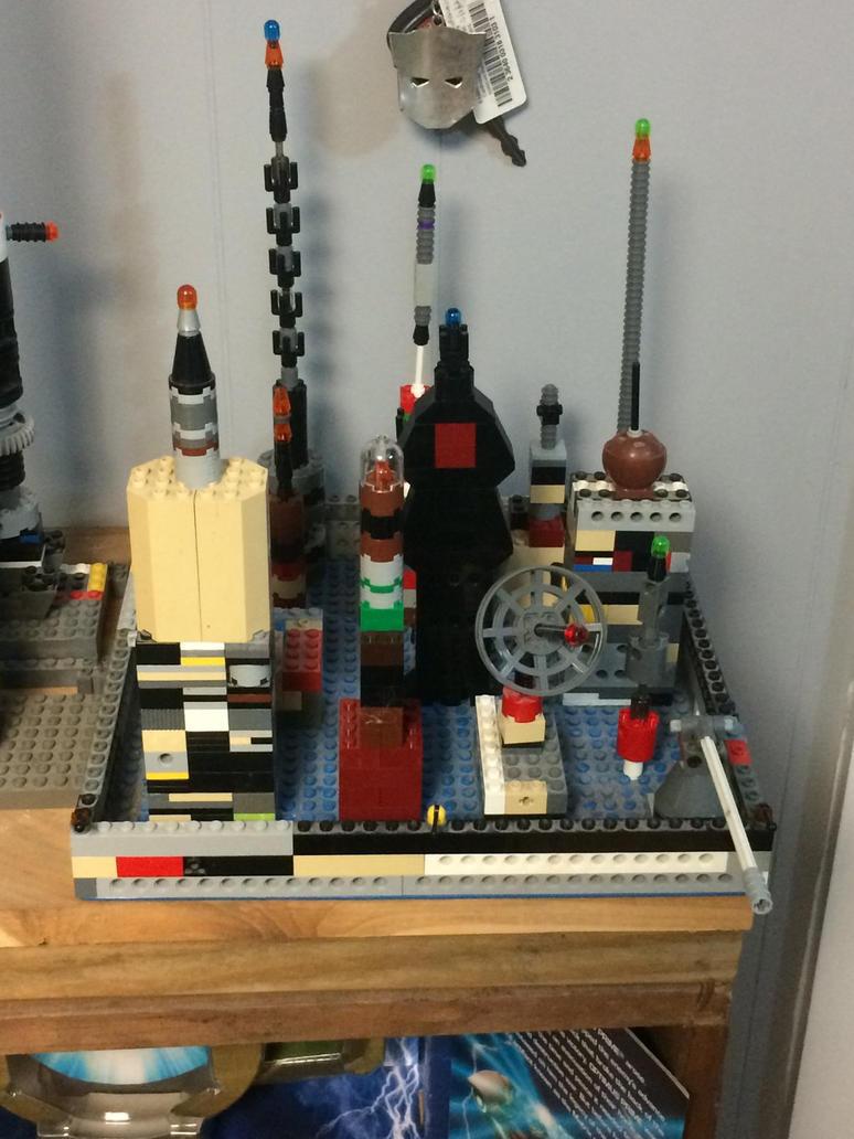 Lego city of Iacon  by Transformerbrett97