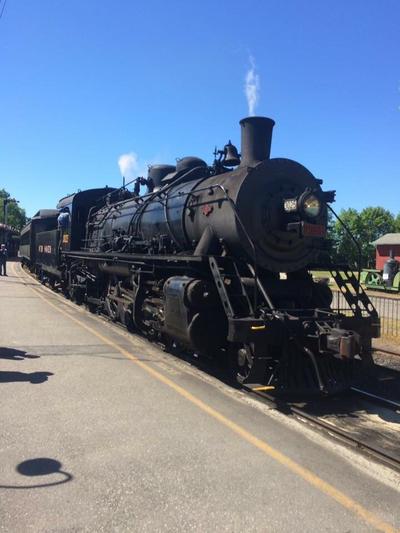 Essex Steam Train  engine 3025 by Transformerbrett97