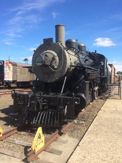 Boston Maine steam in Danbury  by Transformerbrett97