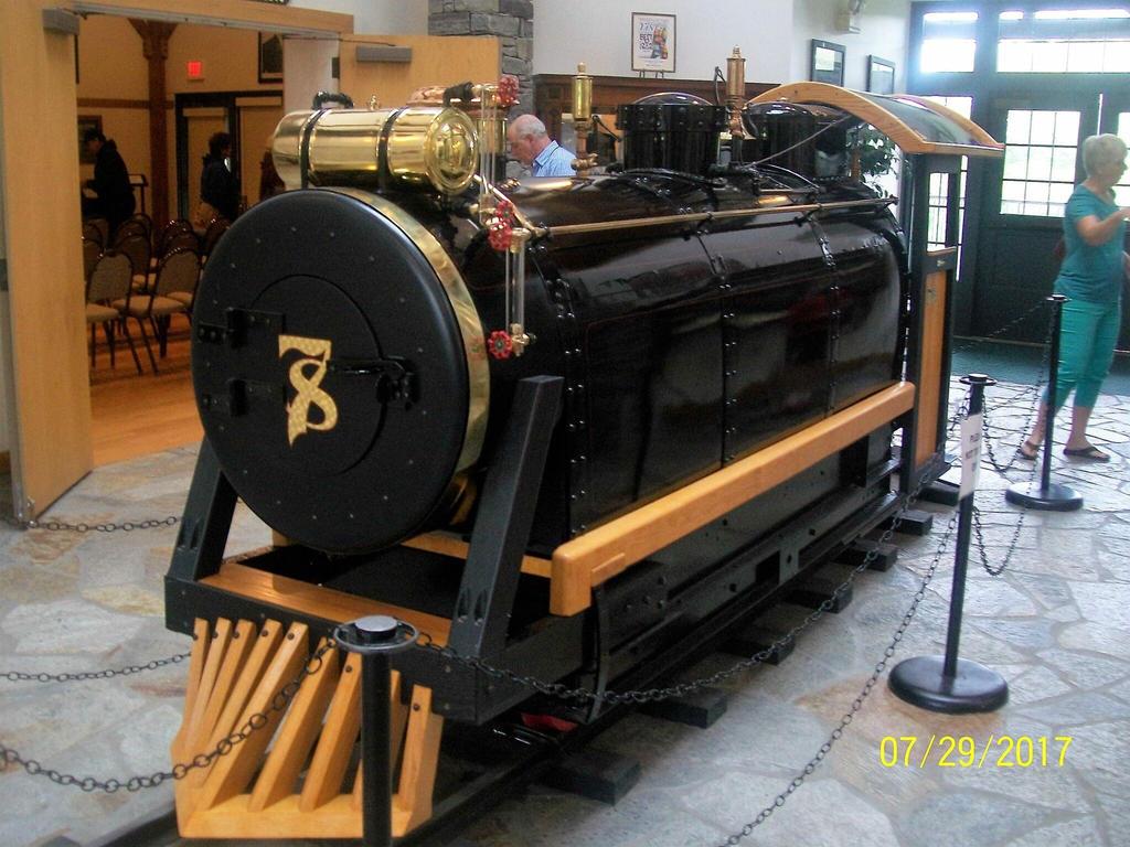 William Gillettes Hand Built Steam Locomotive  by Transformerbrett97