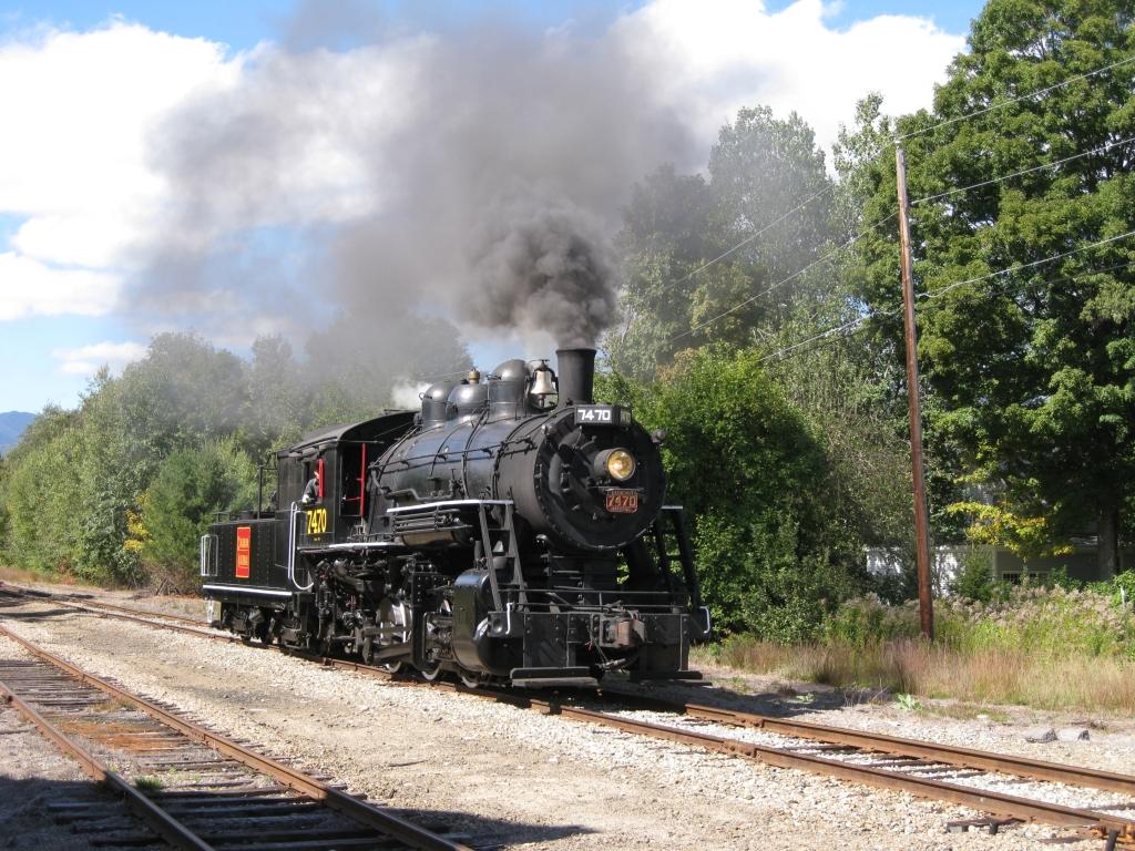 Conway Scenic Railroad 7470 steam Engine by Transformerbrett97
