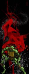 Ninja Turtles Raf's Red Rage by skechitYAS
