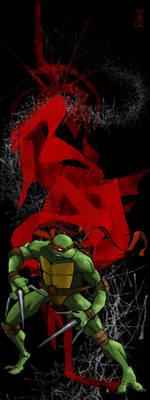 Ninja Turtles Raf's Red Rage