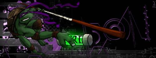 Ninja Turtle Don's Purple Haze by skechitYAS