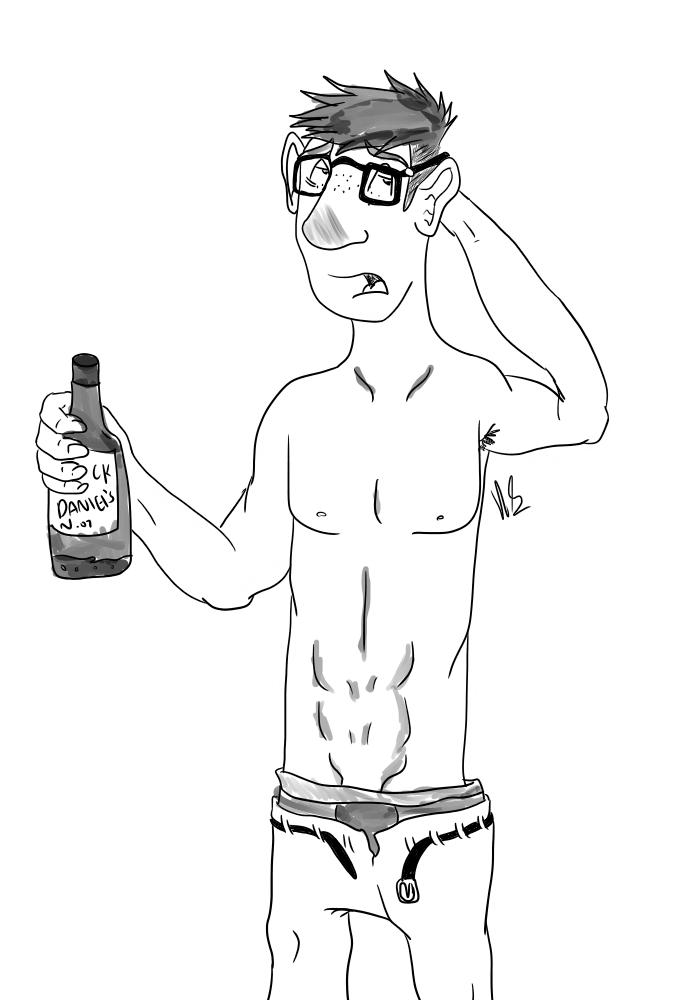 Drunk Jew by Deerstrukk