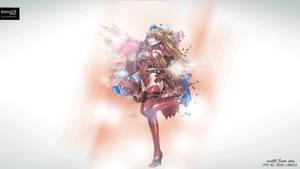 Asuka Langly NGE Animated Flowers EP2