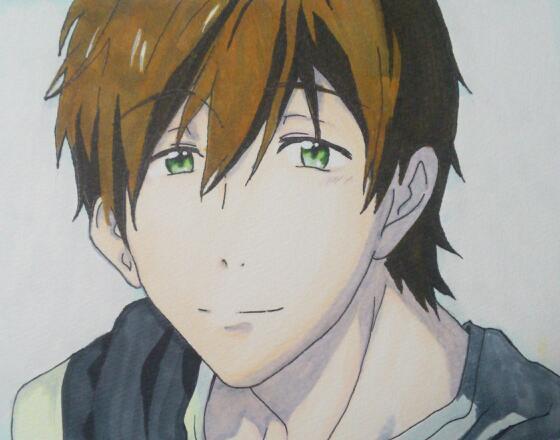 Makoto smile by shinta-sp