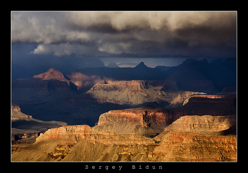 "Grand Canyon. ""Storm Coming"" by sergey1984"