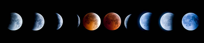 2010 Lunar Eclipse by sergey1984