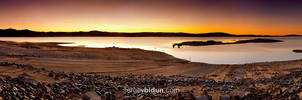 Folsom Lake Panorama. by sergey1984