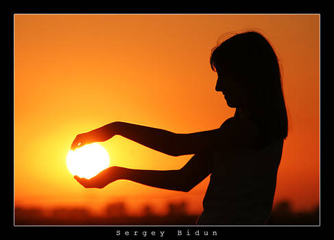 I will hug sun by my hands...