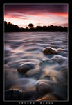 American River after Sunset...