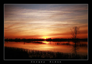 Consumes River Sunset. by sergey1984