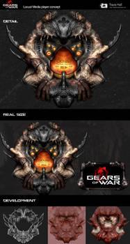 Gears Of War Locust interface