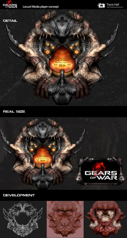 Gears Of War Locust interface by beatsta