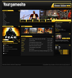 Gaming website game overview p