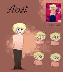 Ref:. Anat  ( Madness igrushki ) [characters] by insaheart