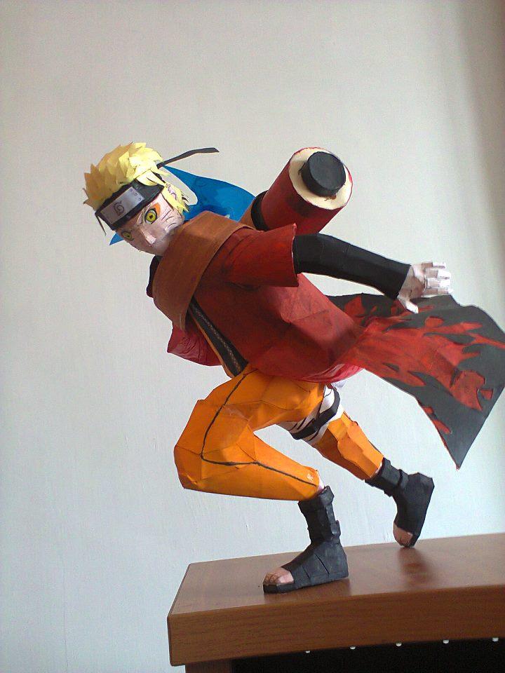 Naruto Sage Mode Rasenggan Shuriken by erinasution