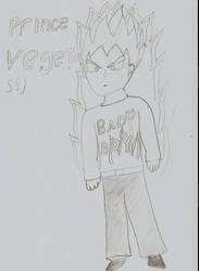 ssj Vegeta by Firefly64