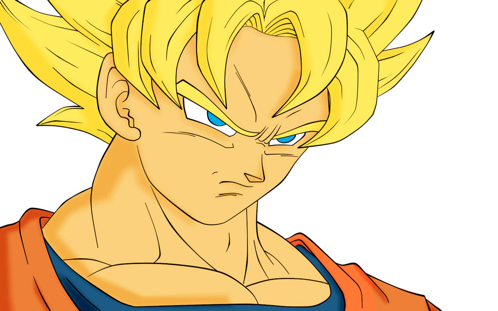 Goku Coloring Pages 2ju2 By Ymdsr On Deviantart Goku Coloring Pages