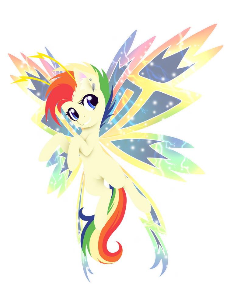 Commission - Bolt Wings by FuyusFox
