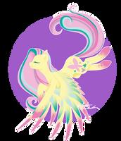 Rainbow Power - Fluttershy by FuyusFox