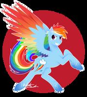 Rainbow Power - Rainbow Dash by FuyusFox