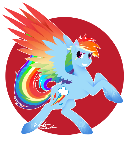 Rainbow Power - Rainbow Dash by FuyusFox