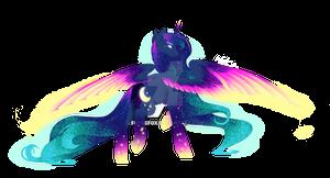 Rainbow Power - Luna