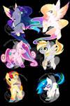 Chibi Rainbow Power Designs 2