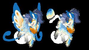 Mystery Darter Adopt - Bluebird Theme (CLOSED)