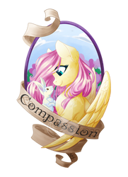 Medallion - Compassion by FuyusFox