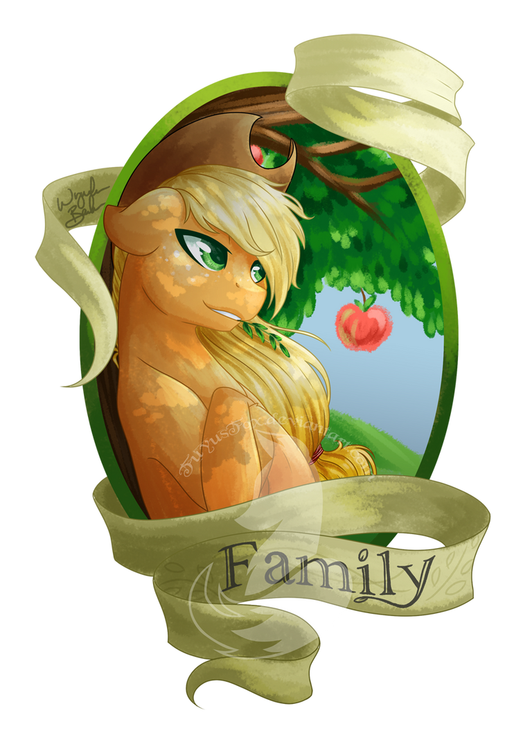 Medallion - Family by FuyusFox