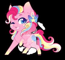 Rainbow Power Chibi Redux - Pinkie Pie