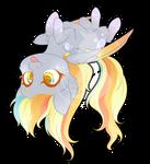 Rainbow Power Chibi Redux - Derpy
