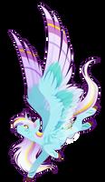 Commission - Rainbow Power Wind Blade