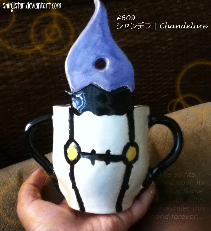 Shandera/Chandelure cup - view #1 by shinjistar
