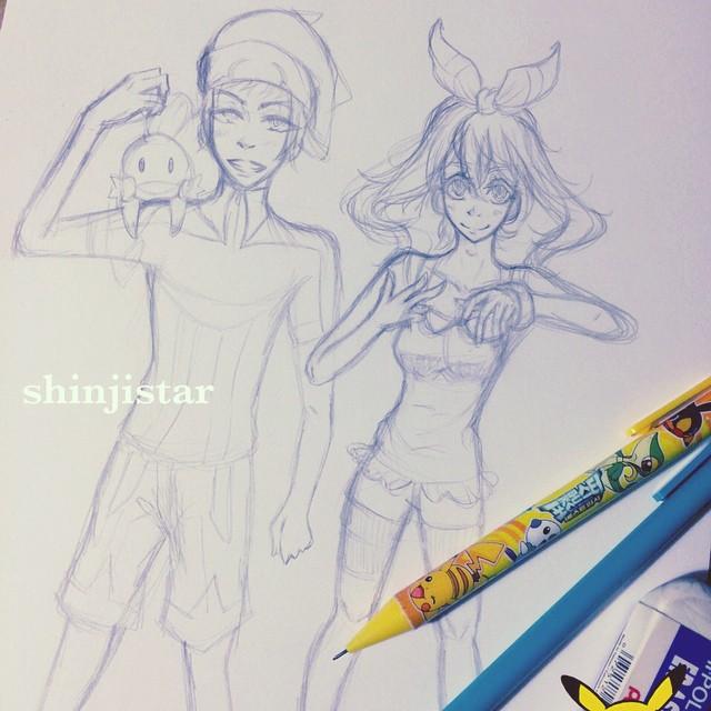 omega / alpha (wip) by shinjistar