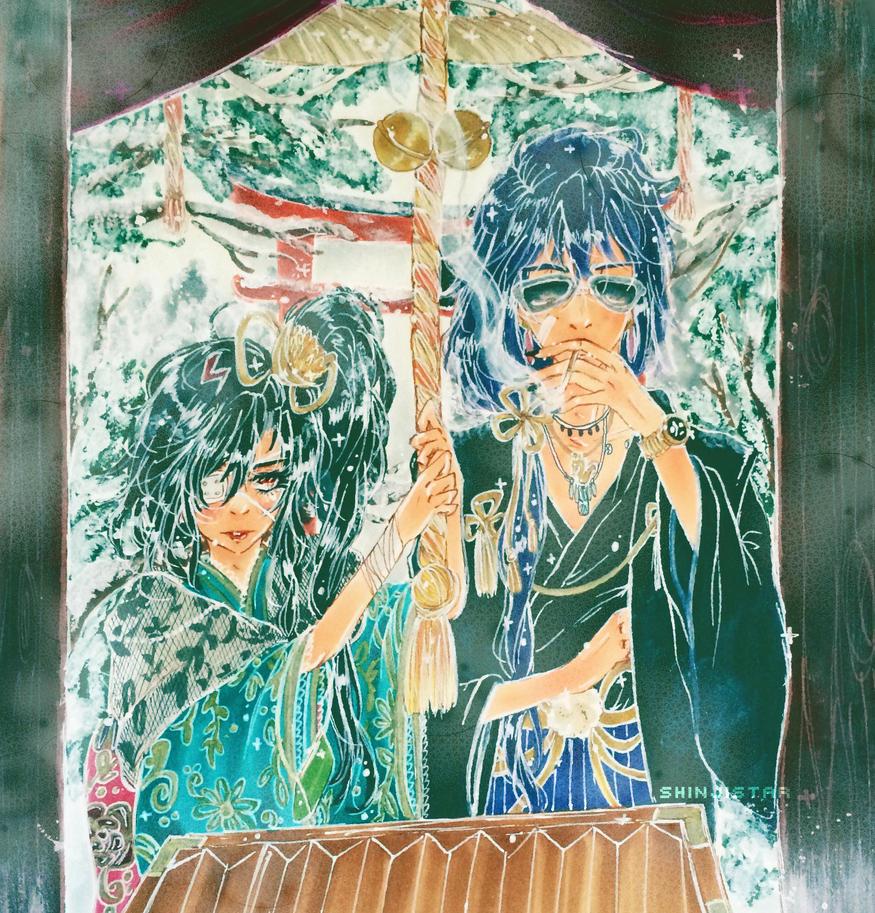 hatsumoude )) by shinjistar