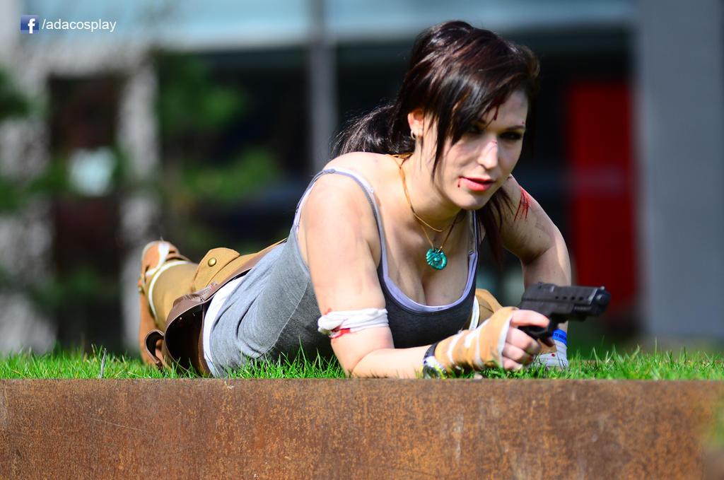 Lara Croft cosplay - Tomb Raider Reborn by AdaCroft